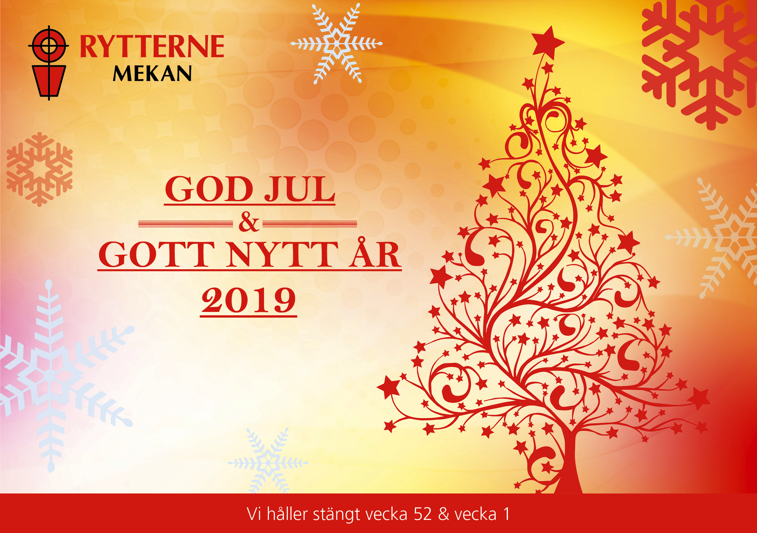 Rytterne mekan god jul